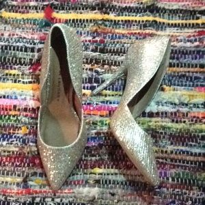 Chinese Laundry pointed toe sparkle heel 8.5